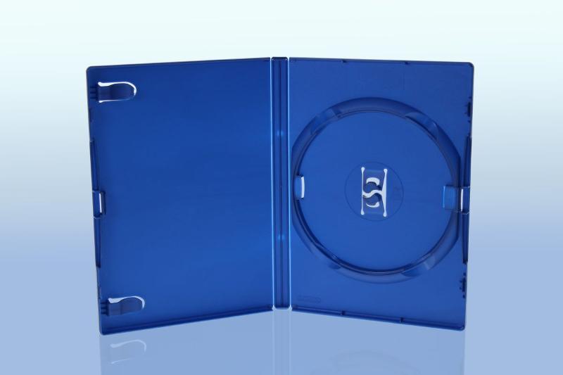 AMARAY DVD Box - 14mm - blau - Gameboxen