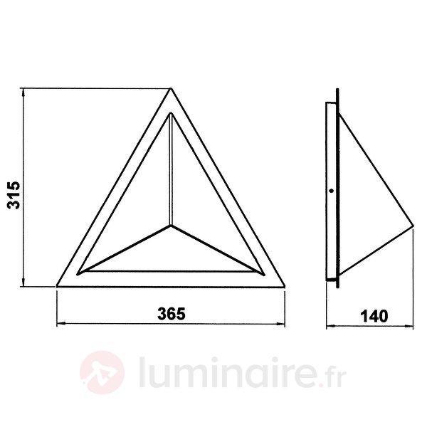 Applique d'extérieur 503 fabriquée en Allemagne - Appliques d'extérieur inox