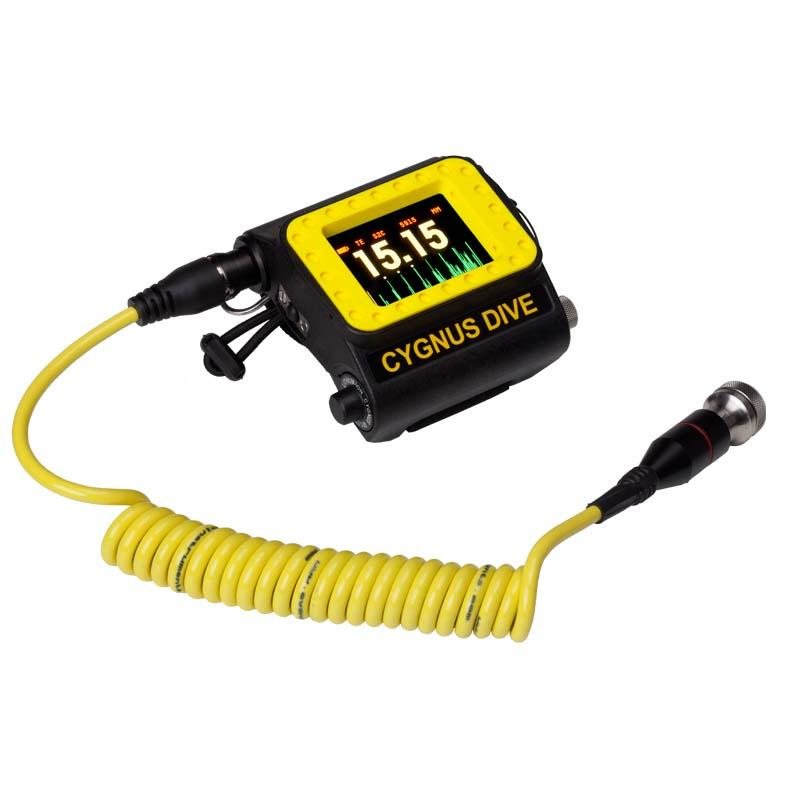 Cygnus DIVE Ultrasonic Thickness Gauge - Underwater Thickness Gauge with A-Scan & Data Logging