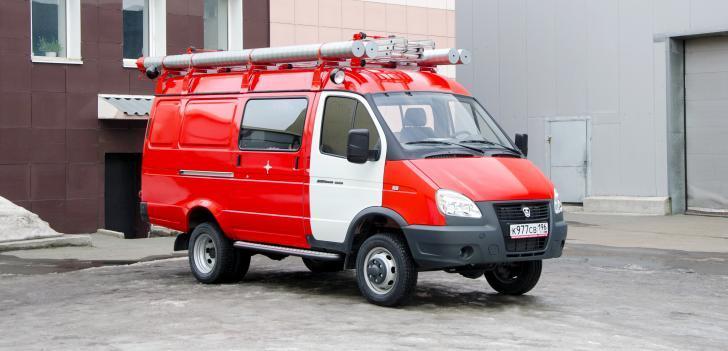 Автомобиль первой помощи на базе ГАЗ АПП-0,5-5 (2705) -