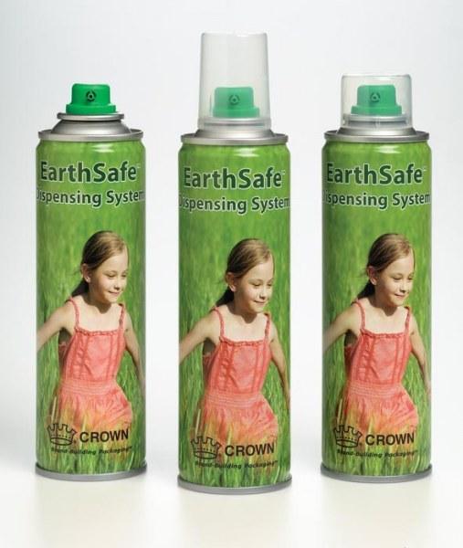 Aerosol Cans - EarthSafe™ Dispensing