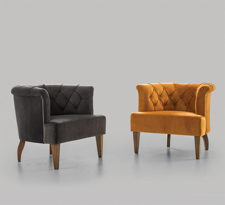 CHAIR and SOFA MODELS - CUSTOM-MADE & PROJECT-BASED TYPES OF FURNITURES