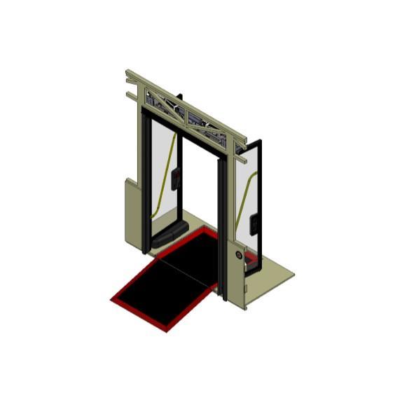 İçe Açılır Çift Kanat Kapı Mekanizması