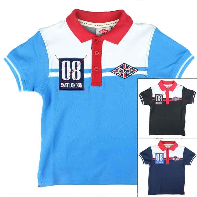 Distributor kids Polo licenced Lee Cooper - T-shirt and polo short sleeve