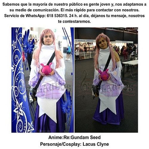cosplay personaje: Lacuus clyne