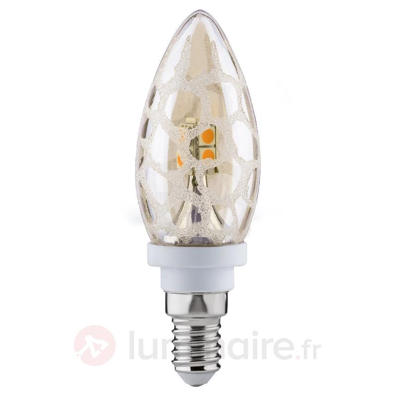 Ampoule LED flamme E14 2,5 W 826 croco Gold - Ampoules LED E14