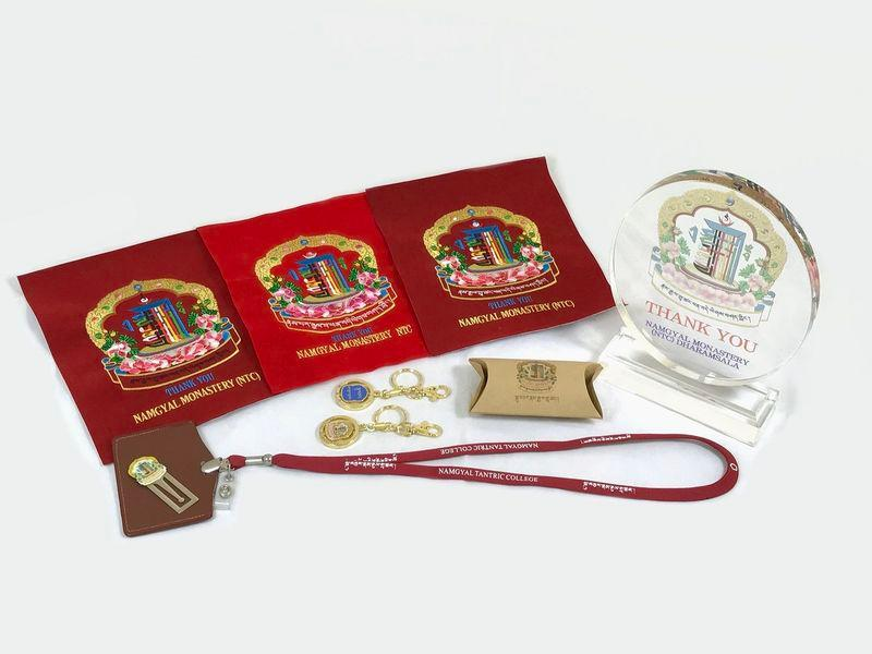 Αντικείμενα σουβενίρ της μονής Namgyal -