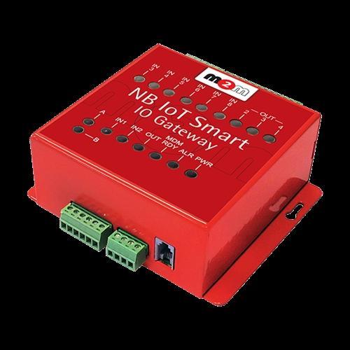 NB IoT Smart IO Gateway - Narrow-Band/IoT pulse counter, voltage/contact signal transmitter on Modbus RTU