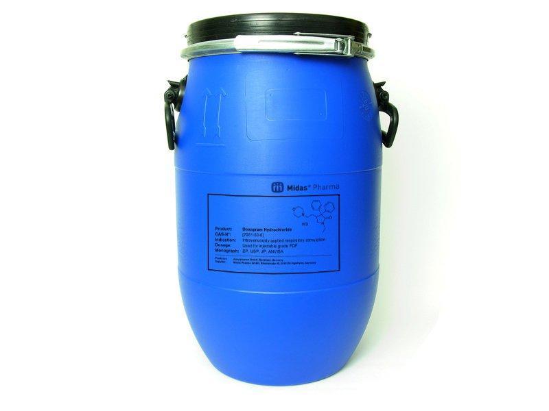 Doxapram Hydrochlorid - Doxapram Hydrochlorid; Wirkstoff; EP, USP, JP, ANVISA; [7081-53-0]
