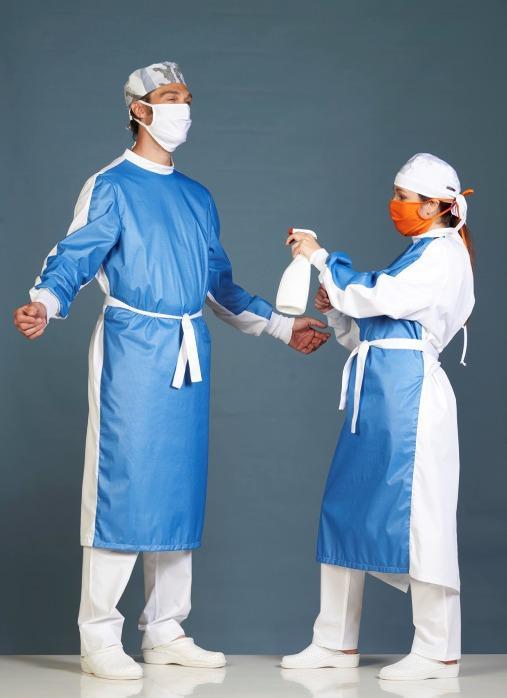 Montreaux Unisex TTR & CR - Classic unisex operating theatre gown.