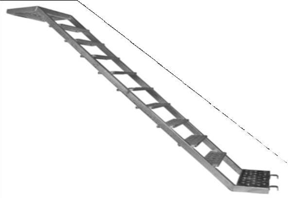 Escalera Z de Acero - null