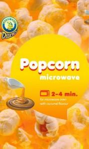 POPCORN FOR MICROWAVE OVEN