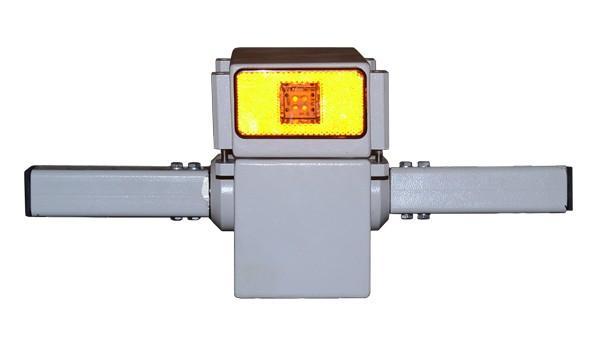 Опорно-поворотное устройство - для установки прожекторов, дистанционно управляемое