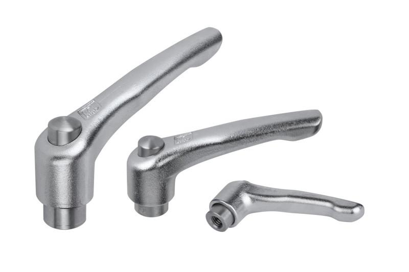 Clamping lever - Clamping levers for manual alignment for fixation tasks & clamping applications.