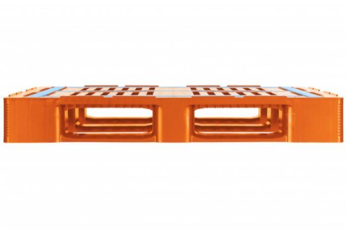 CR3 / CR3-5 sin acero - Paleta de plástico, Paleta con revestimiento antideslizante, Palets industriales