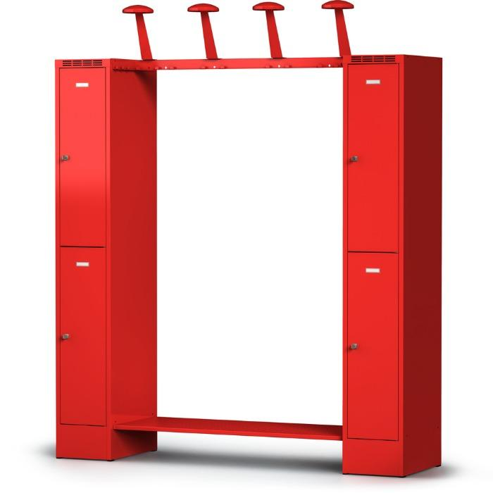 Gear locker FLEX - space-saving and flexible - for 2 or 4 people
