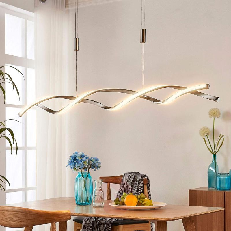 Height-adjustable LED hanging lamp Auron - indoor-lighting