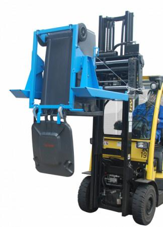 Wheelie bin tipper type MK - For emptying and cleaning 80/120 or 240 litre wheelie bins