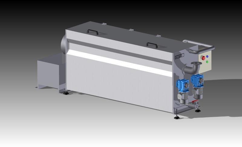 Filtro rotante autopulente FR-50