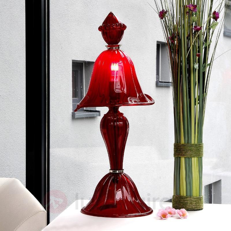 Lampe à poser audacieuse San Marco, verre - Toutes les lampes à poser