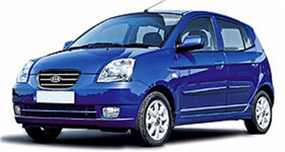 VEHICLE RENTAL KIA PICANTO - All rental cars come with Air Condition and Radio CD