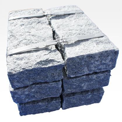 Bordures en Granit Rustique Gris - Bordure de trottoir granite éclaté finition rustique.