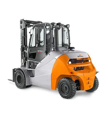 Diesel- und Treibgasgabelstapler RX 70 6,0 - 8,0 t - Kraft intelligent definiert