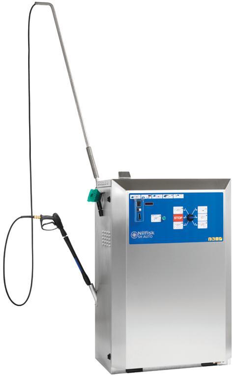 NILFISK SH AUTO 5M - Nettoyeurs haute pression eau... - Nettoyeur haute pression eau chaude stationnaire essence ou électrique