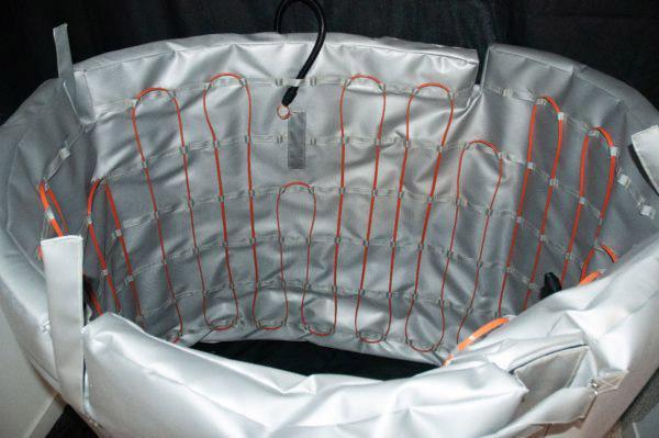 Matelas chauffants - Le matelas chauffant permet de réunir la fonction d'isolant et de chauffage