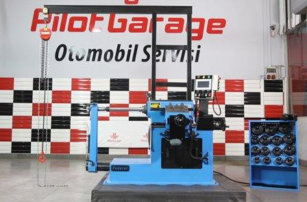 drum lathe machine - service garage equipment