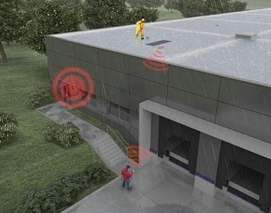 Schnee- und Stauwasser-Alarmsystem SAS-307 - Frühwarnsystem - Kontinuierliche und ganzjährige Messung der aktuellen Dachlast