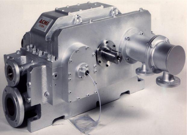 Turbo-multiplicateurs - Multiplicateur moteur électrique/compresseur centrifuge 500 kW à 13100 rpm
