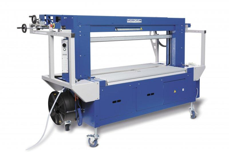 Evolution SoniXs TRC-6 - Máquina flejadora totalmente automática para cartón ondulado