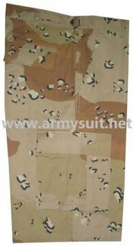 Desert Camouflage Six Color Army BDU Shorts - PNS-SH007