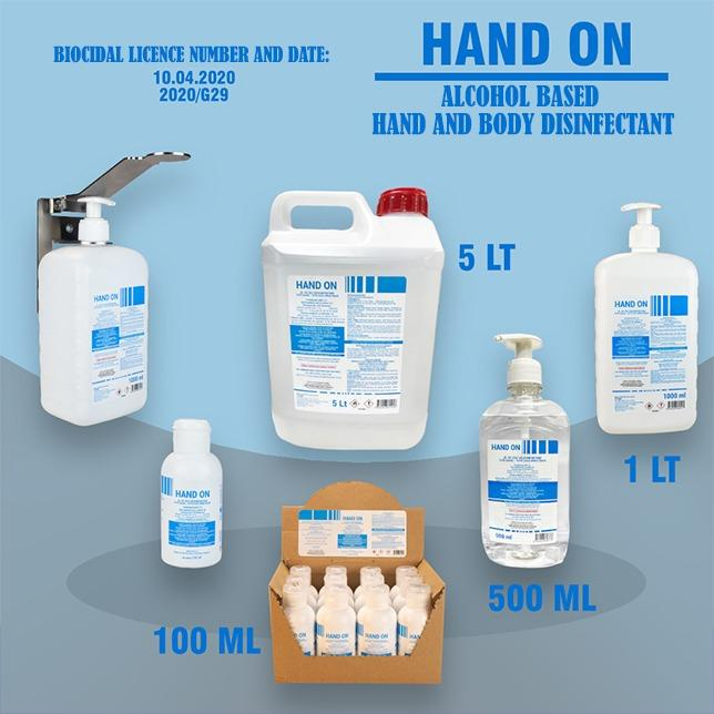 Hand On - Hand and Body Disinfectant