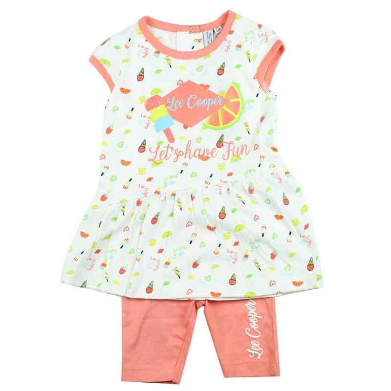 Wholesaler Lee Cooper kids set of clothes - Summer Set