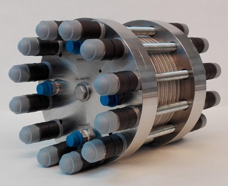 PEM Electrolysis Stacks / PEM Electrolyzer - PEM Elektrolysestacks bis 15 Nm³ H2/h und 100 bara Differerenzdruck