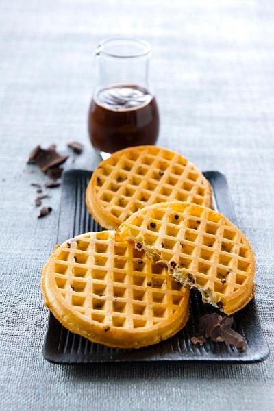 Toaster Waffles with Chocolate chips