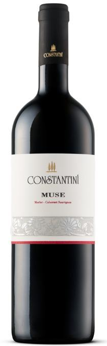 Red Wine Constantini Muse Merlot - Cabernet Sauvignon 2008 - Slovenian Wine Merlot - Cabernet Sauvignon. Goriska Brda, Slovenia.