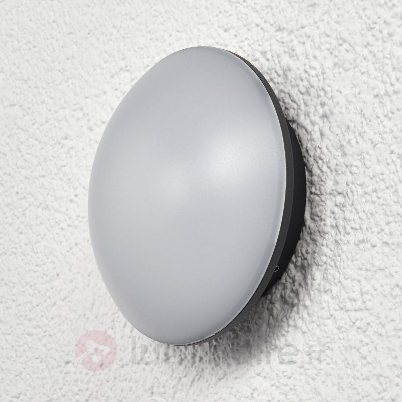 Applique LED circulaire Claudius pour l'ext. - Appliques d'extérieur LED