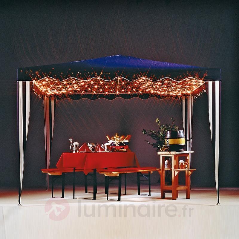 Filet lumineux extérieur pour pavillon - Lampes décoratives d'extérieur