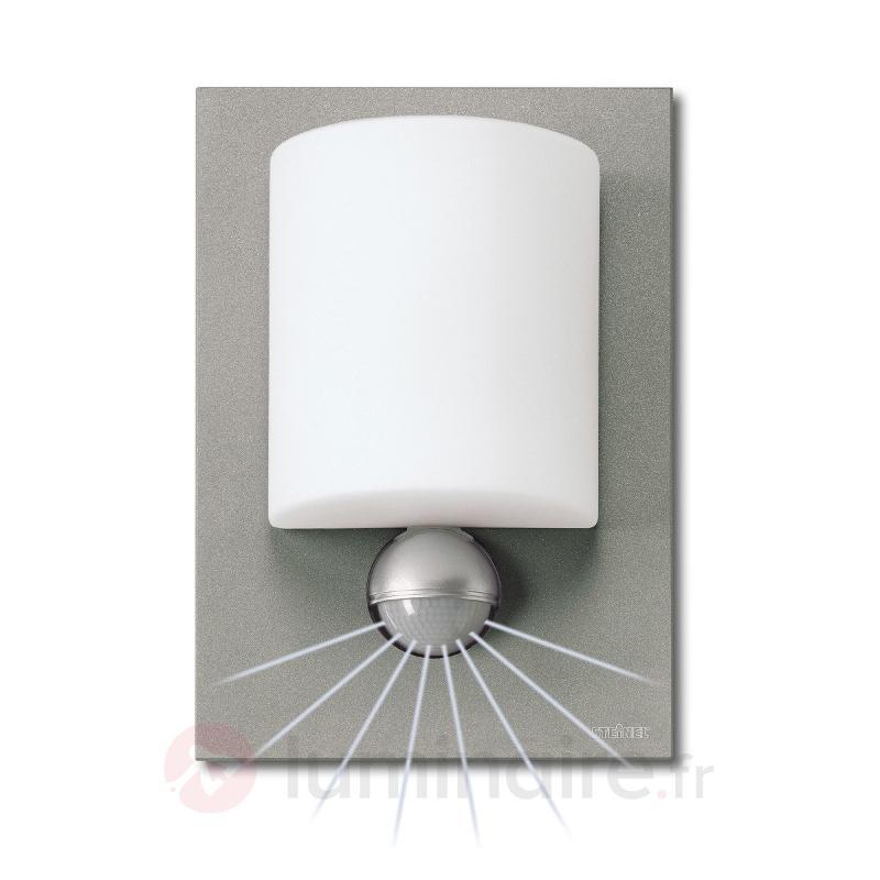 Applique d'extérieur LED L680 alu argenté - Appliques d'extérieur LED