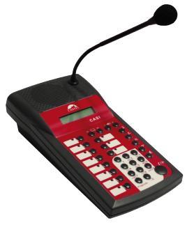 MP CASI - Interphonie de sécurité (CASI) - Pupitre déporté CASI