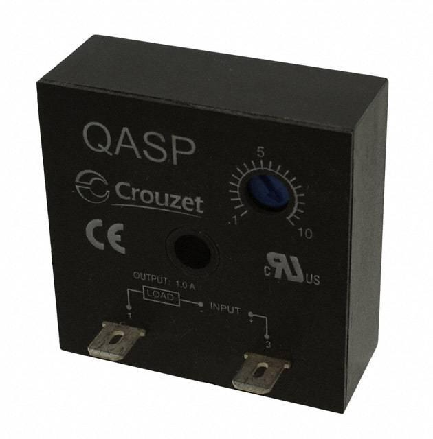 RELAY TIMER ON-DELAY 24V QC - Crouzet QASP10S24ADL