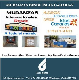 Mudanzas a Islas Canarias - Desde todo el Mundo