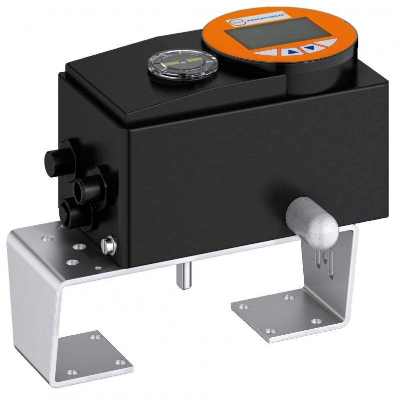 Posicionador electrónico analógico ó digital tipo EP501 - El posicionador digital sirve para la activación de actuadores neumáticos.