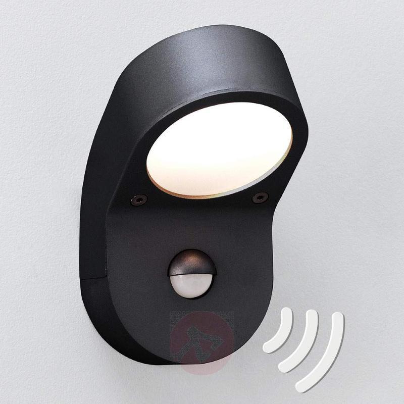 Soprano Outside Wall Light with Sensor - Wall Lights with Motion Sensor
