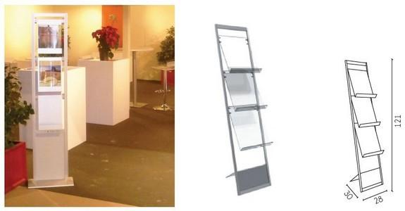 Folder displays - For stands or showrooms