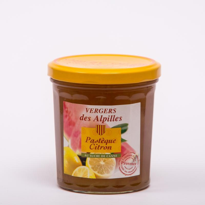 Vergers des Alpilles - Pastèque/Citron - Confitures au sucre de canne