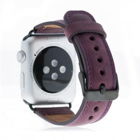 Reloj inteligente correa de cuero genuino G7 - Apple reloj inteligente G7